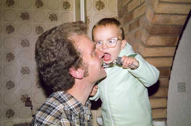 Key eating child